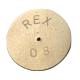 PASTILLE INOX CALIBRE 2,3MM D.EXT 15