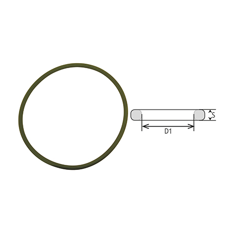 Or145x4 VITON joint torique 145mm x 4 mm