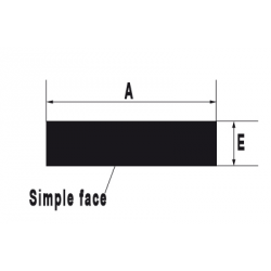 JOINT ADHESIF SIMPLE FACE