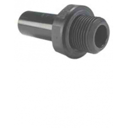 "DOUILLE JONCTION MALE 1/2"" EXT.22 FILETAGE BSP CYLINDRIQUE"