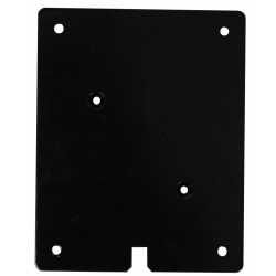 PLAQUE ADHESIVE RECTANGLE BICHROMATEE
