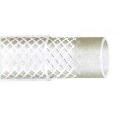 COURONNE 50M TUYAU PVC TRANSLUCIDE 13B D12.5x18