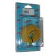 BOBINE CABLE MONOCONDUCTEUR 10M JAUNE 1.5mm2
