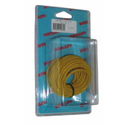 BOBINE CABLE MONOCONDUCTEUR 10M JAUNE 1.5mm2