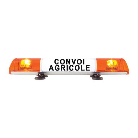 RAMPE DE SIGNALISATION CONVOI AGRICOLE MAGNETIQUE