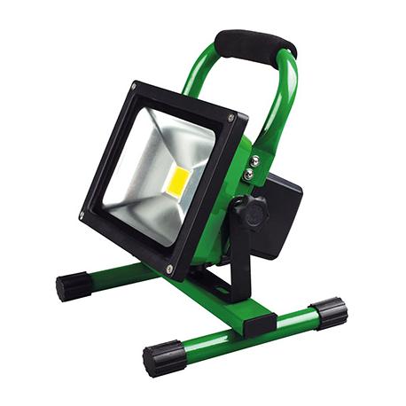 projecteur led portatif rechargeable 20w 1800lm. Black Bedroom Furniture Sets. Home Design Ideas