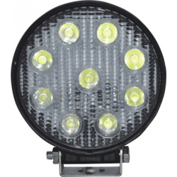 PHARE TRAVAIL LED ROND 9 LED 1450LM