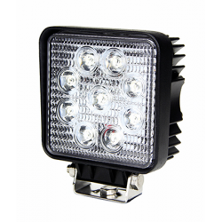 PHARE DE TRAVAIL CARRE 9 LED 1700LM LARGE 12/24V AGRILED