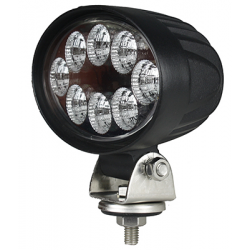 PHARE DE TRAVAIL OVAL 8 LED 1600LM LARGE 12/24V AGRILED