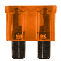 100 FUSIBLES ENFICHABLES STANDARD 40A ORANGE