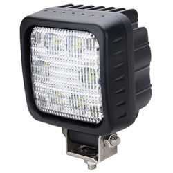 PHARE DE TRAVAIL CARRE 6 LED 3000LM LARGE + FAISCEAU 12/24V LUMITRACK