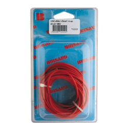 BLISTER CABLE MONOCONDUCTEUR 10M ROUGE 1.5mm2