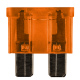 10 FUSIBLES ENFICHABLES STANDARD 40A ORANGE
