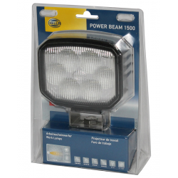 PHARE DE TRAVAIL RECTANGULAIRE POWER BEAM 6 LED 1300LM LARGE