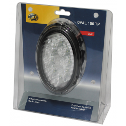 PHARE DE TRAVAIL OVAL 100 8 LED 1700LM LARGE LAT.THERM.DT