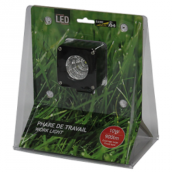 PHARE DE TRAVAIL CARRE 1 LED 900LM LARGE