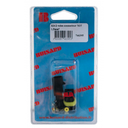 "KIT CONNECTEUR ETANCHE SUPERSEAL ""M/F"" 1.5mm 2V"
