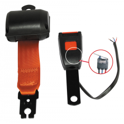 KIT CEINTURE ENROULEUR 2 POINTS ORANGE