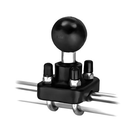 bras pour tube rond boule dia 1 5 ram. Black Bedroom Furniture Sets. Home Design Ideas