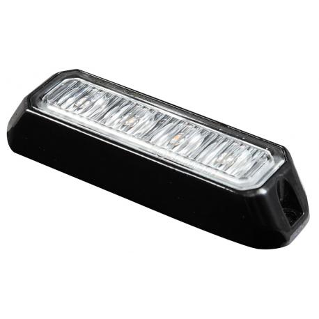 FEU PENETRATION 4 LED PLAT ORANGE 12/24V