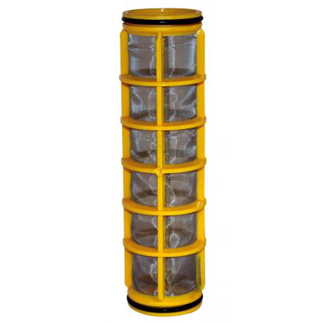 CARTOUCHE INOX JAUNE 80 MESH SERIE 326 - 326-2 - 328