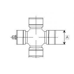 MÂCHOIRE TUBE EXT. ORIG. 204S46854 SÉRIE S4