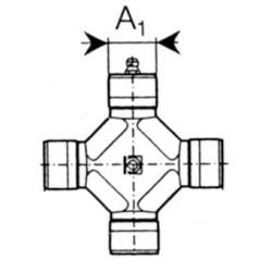 MÂCHOIRE D'EXTRÉMITÉ 80° ORIG. 5730G0384 1'3/8 (6) SÉRIE S6