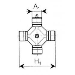 CROISILLON GRAND ANGLE 80° ORIG. 4120E0051 SÉRIE S2-S4