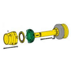 PROTECTEUR COMPLET GA FLEXO W2380 (TUBE 1B/2A)