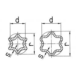 TUBE CARDAN CITRON 75.12 (OA)