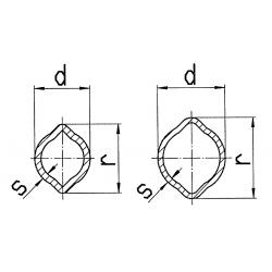 TUBE CARDAN CITRON 75.11 (OV)
