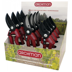 PRESENTOIR CARTON 12 SECATEURS ARCHMAN