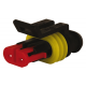 CONNECTEUR ETANCHE SUPERSEAL MALE SERIE 1.5MM 2V