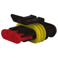 CONNECTEUR ETANCHE SUPERSEAL MALE SERIE 1.5MM 3V