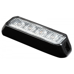 FEU PENETRATION 4 LED PLAT BLANC 12/24V