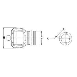 MACHOIRE DE TUBE SFT 22X86 - S4