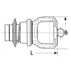 MACHOIRE VERROUILLAGE A BILLE SFT GLOBAL 27X100 - G5 / G7 / S6 / H7