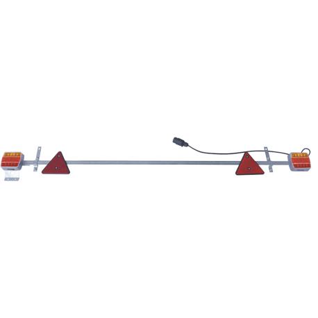 RAMPE DE SIGNALISATION METAL LED 1,60M