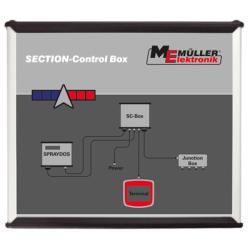 SECTION-CONTROL BOX HARDI HC2500/HC5500 7 VOIES