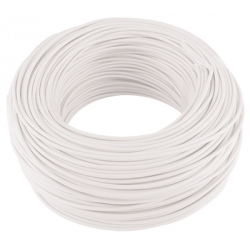 CABLE MONOCONDUCTEUR 1MM2 BLANC