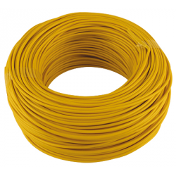CABLE MONOCONDUCTEUR 1.5MM2 JAUNE