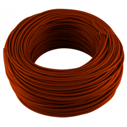 CABLE MONOCONDCUTEUR 1.5 MM2 MARRON