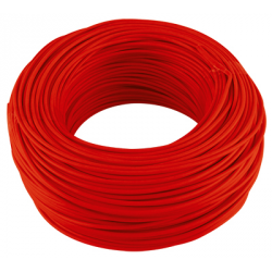 CABLE MONOCONDUCTEUR 6 MM2 ROUGE