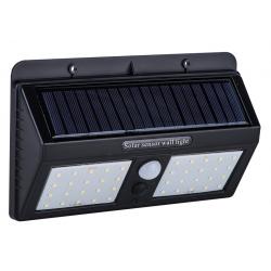 APPLIQUE SOLAIRE 40 LED EXTERIEURE 360LM - 30W