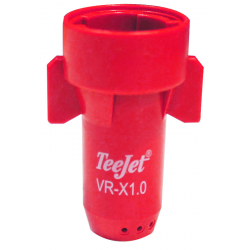 ECROU BUSE TEEJET STREAMJET 7 FILETS DEBIT VARIABLE ROUGE