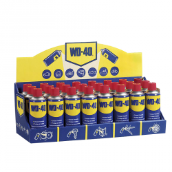 PRESENTOIR AEROSOL WD40 MULTIFONCTIONS SYSTEME PRO. 400ML 24PCS