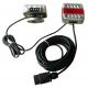 KIT SIGNALISATION FEUX LED ROUGE/BLANC 12V 7.50M MAGNETIQUES