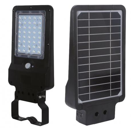 LAMPADAIRE SOLAIRE LED 850LM AVEC DETECTEUR