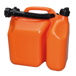 JERRYCAN PLASTIQUE DOUBLE COMPARTIMENT
