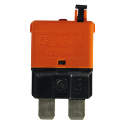 DISJONCTEUR ENFICHABLE STANDARD 40A ORANGE
